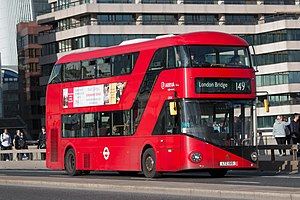 LTZ1515 Arriva London North LT515 Wrightbus New Bus for London.jpg