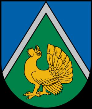 Dundaga Municipality - Image: LVA Dundagas novads COA