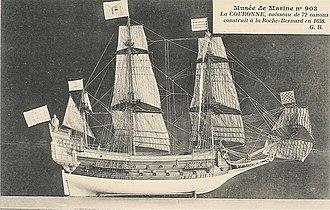 French ship Couronne (1636) - Image: La Couronne Gaston Braun