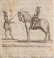 La cavalerie françoise et italienne, ou, L'art de bien dresser les chevaux, selon les preceptes des bonnes écoles des deux nations - tant pour le plaisir de la carriere, et des carozels que pour le (14769268172).jpg