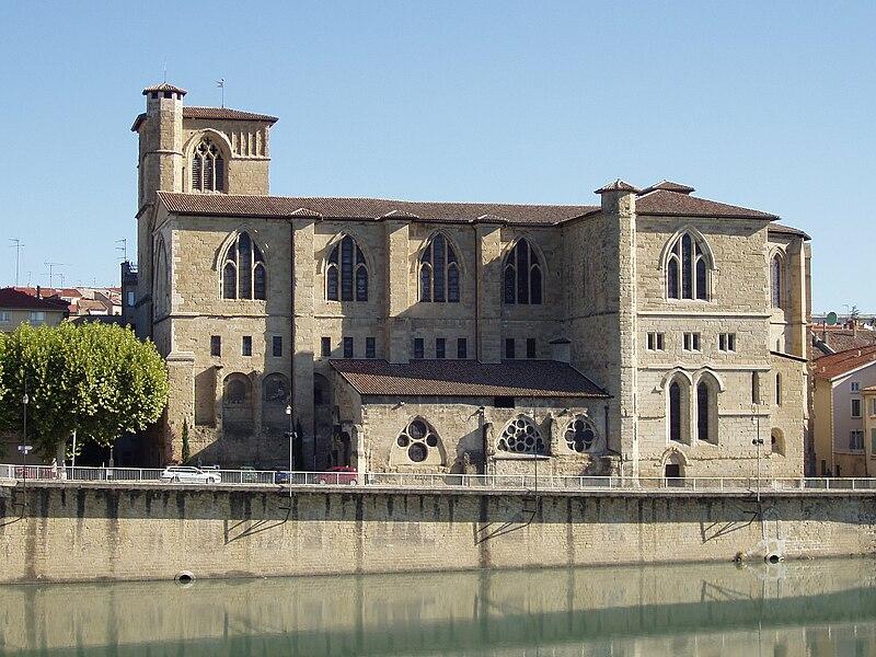 Fichier:La collégiale Saint-Barnard de Romans-sur-Isère (Drôme).JPG