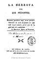 La derrota de los pedantes 1789 Moratín.jpg