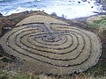 Labyrinth in Kennedy Park Dunure - geograph.org.uk - 1372257.jpg