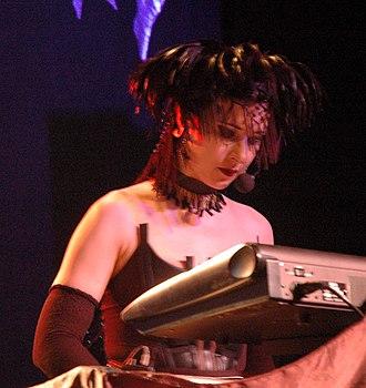 Anne Nurmi - Anne Nurmi performing with Lacrimosa in 2005