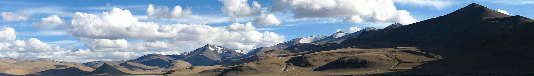 Mountains in eastern Ladakh