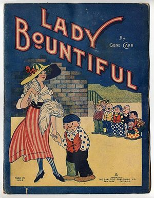 Gene Carr (cartoonist) - Gene Carr's Lady Bountiful (shown here in 1916).