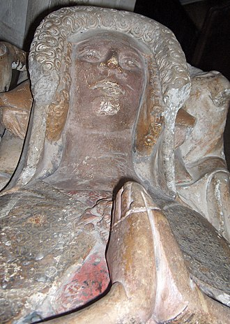 William Montagu, 2nd Baron Montagu - Effigy of Elizabeth de Montfort, wife of William Montagu, in Christ Church Cathedral, Oxford