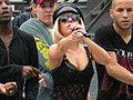 Lady Gaga MuchMusic 2009 soundcheck 01.jpg