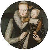 Edward Seymour, Lord Beauchamp Lady Katherine Grey and her son Lord Edward Beauchamp v2.jpg