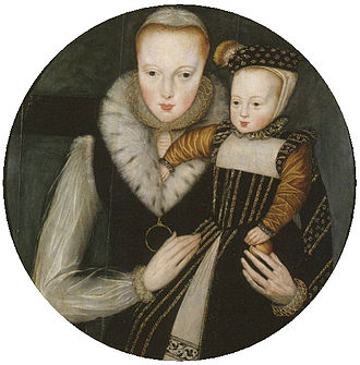 Lady Katherine Grey - Lady Katherine Grey with her elder son Edward, Lord Beauchamp.