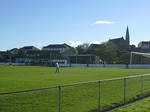 Maybole F.C. - The club's home ground