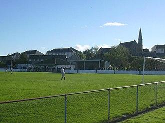 Maybole F.C. - The club's home ground