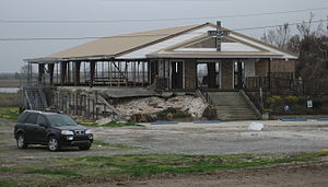 Lake St. Catherine (Louisiana) - St. Nicholas of Myra Church in February 2006