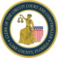 Lake County, Florida - Clerk of the Circuit Court and Comptroller seal transparent color.png