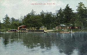 Auburn, Maine - Lake Auburn in 1911