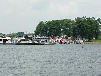 Kinkaid Lake - Marina at Kinkaid Lake