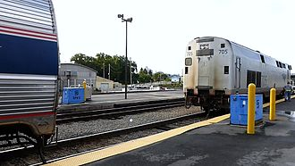 Lake Shore Limited - Image: Lake Shore Limited locomotive separation