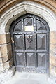 Lambeth Palace, London home of the Archbishop of Canterbury, exterior of main gate.jpg