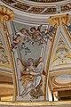 Lamporecchio, villa rospigliosi, interno, salone di apollo, con affreschi attr. a ludovico gemignani, 1680-90 ca., segni zodiacali, vergine 01.jpg