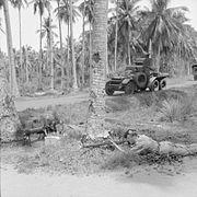Lanchester 6x4 Armoured Car in Malaya