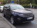 Land Rover Discovery Switzerland Diplomatic plate (Netherlands) (45429591655).jpg