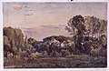 Landscape with a Distant Town (recto); Study of Trees around a Pond (verso) MET sf-rlc-1975-1-642-r.jpeg