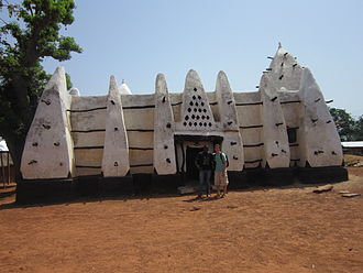Islam in Ghana - Larabanga Mosque, built in the 15th century. Taken in March 2006.