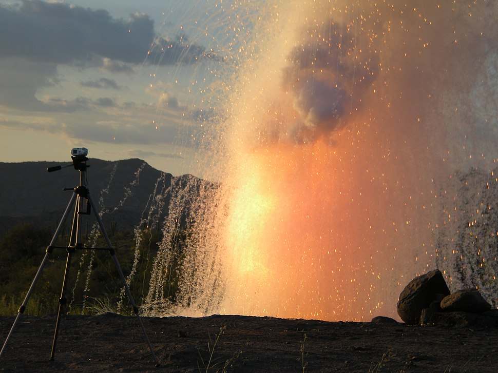 Large Sodium Explosion