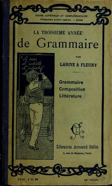 File:Larive Fleury Grammaire 1910 tome 4.djvu