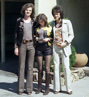1970s in Western fashion - In 1971 hot pants and bell-bottomed trousers were popular fashion trends