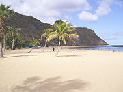 Playa Las Teresitas en Santa Cruz de Tenerife