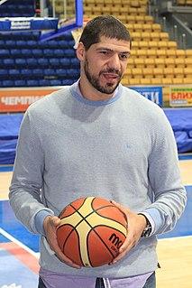 Lazaros Papadopoulos Greek basketball player