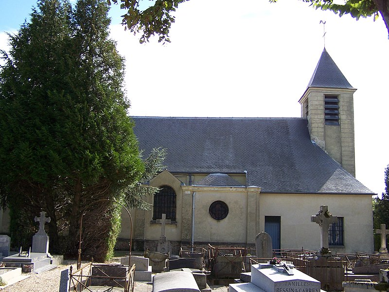 Église Saint-Germain du Chesnay (Yvelines, France)