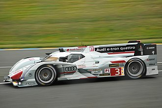 Lucas di Grassi - The No. 3 Audi R18 e-tron quattro that di Grassi shared with Oliver Jarvis and Marc Gené at the 2013 24 Hours of Le Mans.