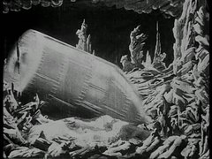 Archivo:Le Voyage dans la lune (black and white, 1902).webm