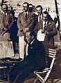 Le français Léon Breton Président de l'U.C.I. à Budapest, pour les deuxièmes championnats du monde cycliste en 1928.jpg