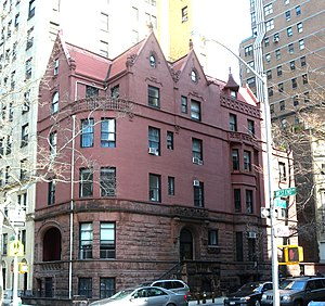 Clarence True - Leech House, 520 West End Avenue (1892)