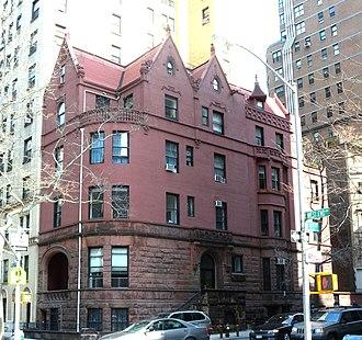 Clarence True - Leech House, 520 West End Avenue (1892)