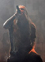 Legion of the Damned, Maurice Swinkels at Party.San Metal Open Air 2013 05.jpg