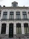 foto van Herenhuis met stijlkenmerken van het Eclecticisme