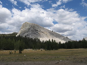 Lembert Dome - Lembert Dome from Tuolumne Meadows