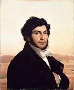 Портрет Шампольона (1831) кисти Леона Конье