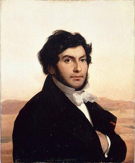 Léon Cogniet, Ritratto di Jean-François Champollion, 1831, olio su tela, Louvre