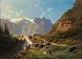 Leopold Heinrich Vöscher - Hochgebirge.jpg