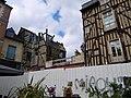 Les vieux immeubles de la rue st michel aprés l'incendie - panoramio.jpg