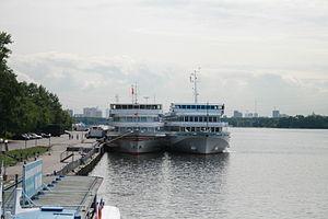 Lev Tolstoy and Narkom Pakhomov ships.20090730.jpg