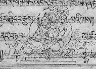 Lha-mtshams 1.God of Tibetan Lunar mansion.jpg