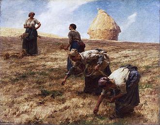 Léon Augustin Lhermitte - The Gleaners