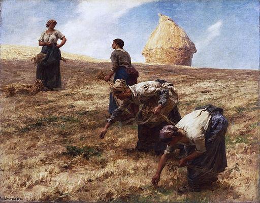 Lhermitte - Les Glaneurs, 1887