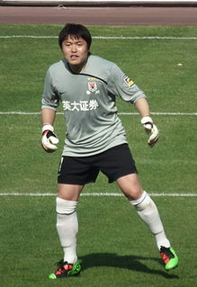 Li Leilei Chinese football goalkeeping coach